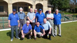 Manor Park A Team.N.Derby. Vets 1st Div. 2012