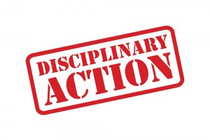disciplinary-action-sign